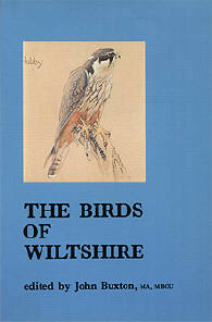 The Birds of Wiltshire edited by John Buxton, cover illustration by Eric Ennion.